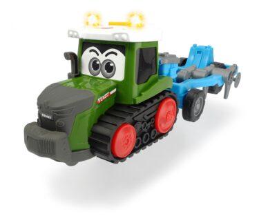 Dickie Tracteur à chenille Happy Fendt avec semoir 203815003