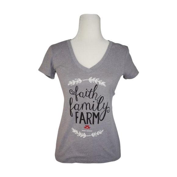 Massey Ferguson women t-shirt 03046GRY