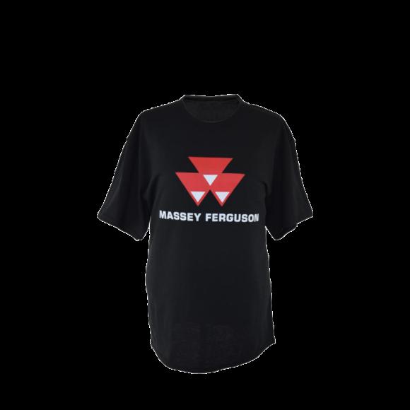 t-shirt Massey Ferguson noir
