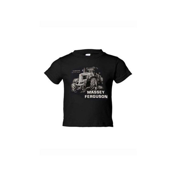 t-shirt Massey Ferguson enfant 03005BLK
