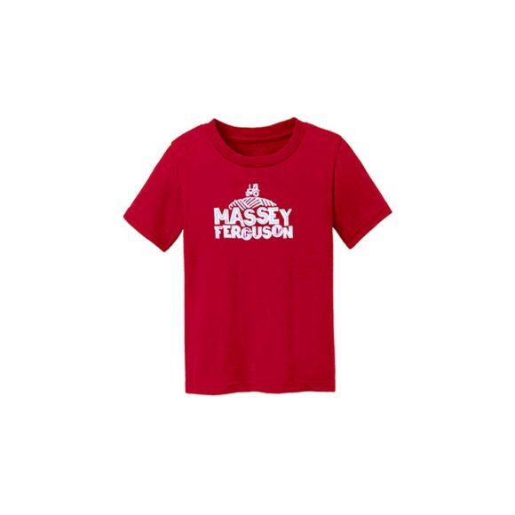 enfant t-shirt Massey Ferguson 03024RED