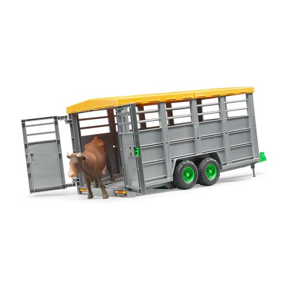 BDR02227 Bruder remorque à bétail