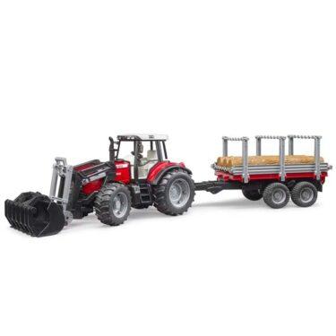 Bruder 2046 Tracteur Massey Ferguson